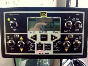 Control electrónico de abonado MCK 2000