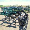 Cultivador Chísel usado de 11 brazos de 40x40 marca hibema