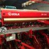 Sembradora de cereal arrastrada de ocasión marca Sola, modelo SD-1203 similar a la Gil, Gaspardo, Lamusa, John Deere, Semeato, Kuhn